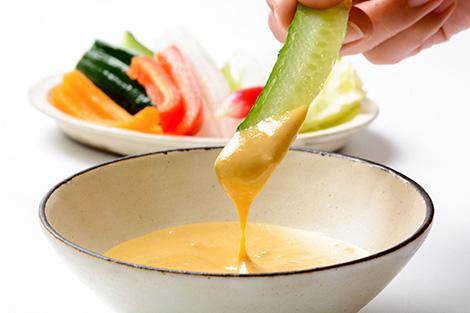 野菜のディップに最適 お手軽みそマヨネーズ